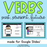 Past, Present, and Future Tense Verbs for Google Slides™