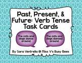 Past, Present, and Future: Verb Tense Task Cards (CC Aligned)