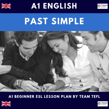 Past Simple A1 Beginner Lesson Plan For ESL