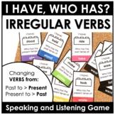 Past Tense Irregular Verbs Card Game