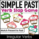 Past Simple Irregular Verb Practice Game - SLAP IT ! (Cupcake Theme)