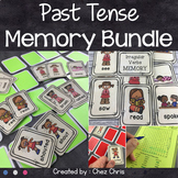 Simple Past Memory Game - Regular and Irregular verbs