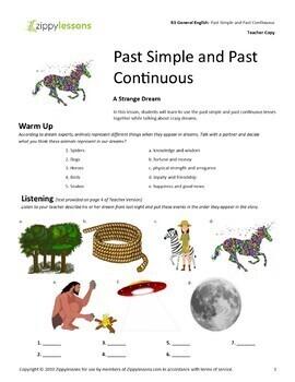 Past Simple Tense - A2 Upper Beginner 3 Lesson Bundle - ESL / EFL