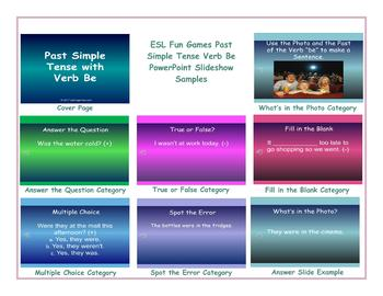 Past Simple Tense Verb Be PowerPoint Slideshow