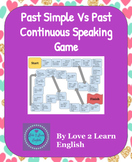 Past Simple Vs Past Continuous Speaking Game- ESL, EFL, SLL