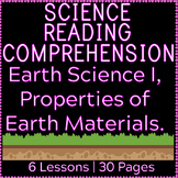 Earth Science Reading Comprehension | Properties of Earth