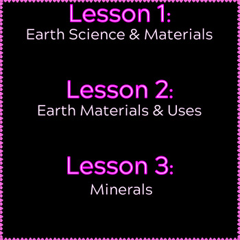 Earth Science Reading Comprehension | Properties of Earth Materials | Gr3-4