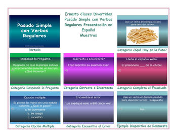 Past Simple with Regular Verbs  Spanish PowerPoint Presentation