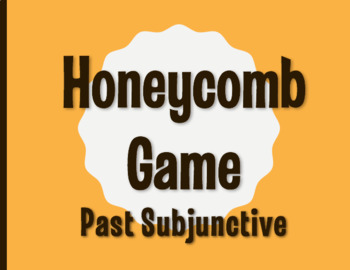 Past Subjunctive Honeycomb Partner Game