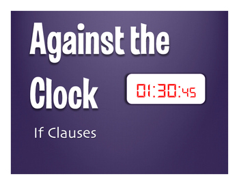 Spanish Past Subjunctive If Clause Against the Clock