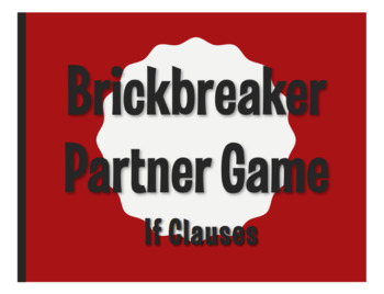 Spanish Past Subjunctive If Clause Brickbreaker Partner Game