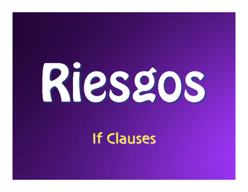 Spanish Past Subjunctive If Clause Jeopardy-Style Review Game