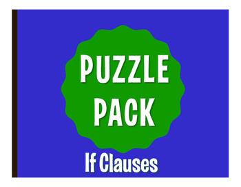 Spanish Past Subjunctive If Clause Puzzle Pack