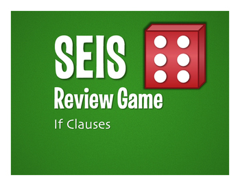 Spanish Past Subjunctive If Clause Seis Game