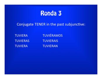 Spanish Past Subjunctive Olympics