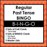 Past Tense Verb BINGO
