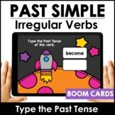 Irregular Verbs : BOOM CARDS™ – Past Tense Digital Task Cards