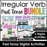 Past Tense Irregular Verbs | Digital Activities Bundle | B
