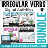 Irregular Verbs Activity Bundle: Past Tense Digital Games