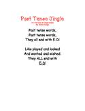 Past Tense-Jingle Shared reading poem