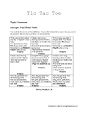 Past Tense Lesson Activities