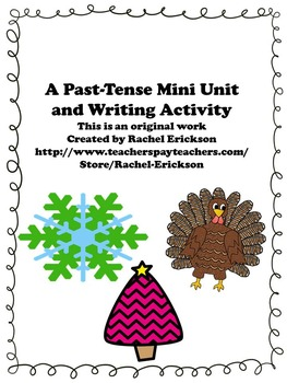 Past-Tense Mini Lesson and Writing Activites