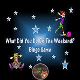 Bingo Game - PowerPoint