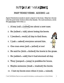 Past Tense Practice Pack