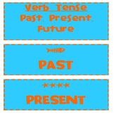 Past Tense, Present Tense, and Future Tense Verbs- Sentence Sort