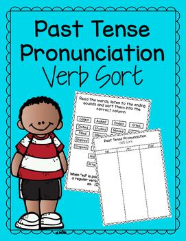 Past Tense Pronunciation Verb Sort