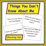 Past Tense Questions: Things You Didn't Know About Me