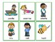 Past Tense Regular Verb Cards /d/ Allomorph