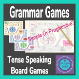 Past Simple Vs Past Progressive/Continuous Speaking Board Games