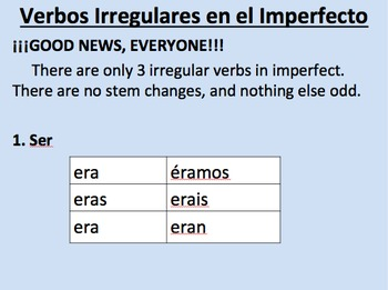 Past Tense Super Pack-- Preterite AND Imperfect