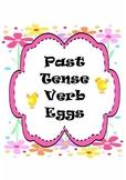 Past Tense Verb Egg Hunt