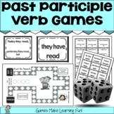 Past Tense Verbs Games w/Past Participle - Easel Digital A