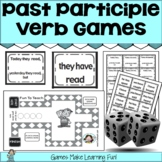 Past Tense Verbs Games w/Past Participle✅ Distance Learnin