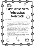 Past Tense Verb Interactive Notebook