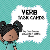 Past Tense Verb Task Cards
