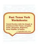Past Tense Verb Worksheets
