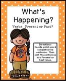 Past Tense Verbs Literacy Center