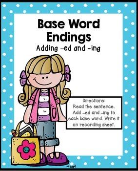Base Word Endings