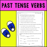 Past Tense Verbs Assessment