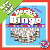 SALE! Past Tense Verbs Bingo - Mega Resource