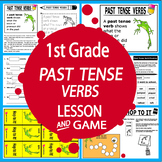 Past Tense Verbs Activities + FULL COLOR Game & Poster, Past Tense Verbs Lesson