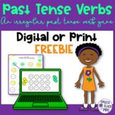 Irregular Past Tense Verb Game   Speech Therapy