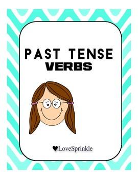 Regular Past Tense Verbs Grammar Packet