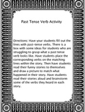 Past-Tense Verbs Mad Lib Activity