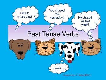 Past Tense Verbs Powerpoint Presentation