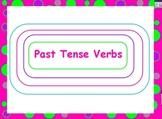 Past Tense Verbs Promethean Flipchart